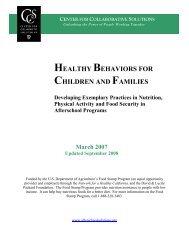 (CCS) Exemplary Practices - California After School Resource Center