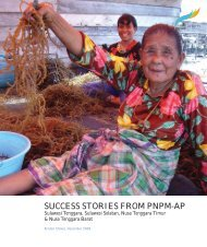 SUCCESS STORIES FROM PNPM-AP - psflibrary.org