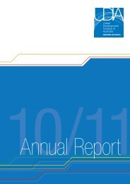 2010-11 Annual Report - Urban Development Institute of Australia