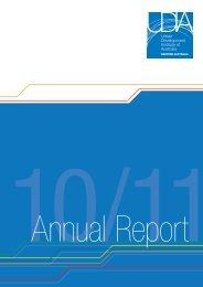 2010-11 Annual Report - Urban Development Institute of Australia