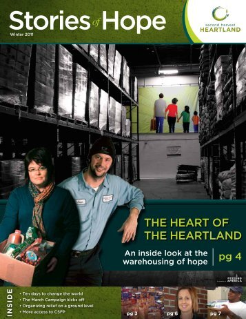 Stories Hope - Second Harvest Heartland