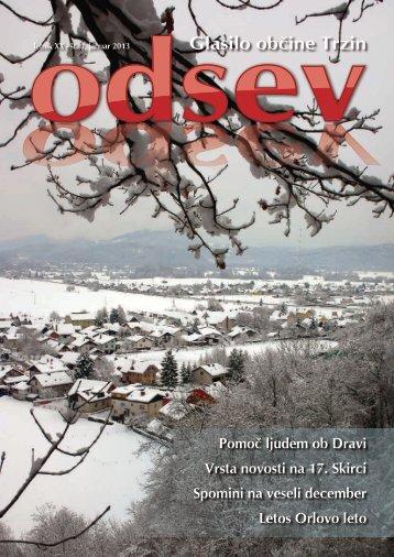 Januar 2013 - Občina Trzin