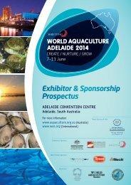 Invitation to Exhibit - The World Aquaculture Society