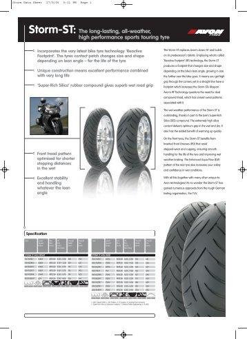 Storm-ST - Avon Tyres