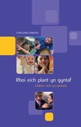 Parenting Plan Welsh - Cafcass