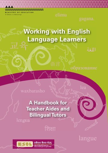 Working with English Language Learners - Ministry of Education