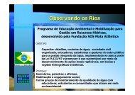Observando os Rios - SIGAM