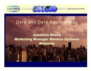 Data and Data Applications - tetra