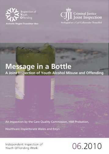 A Joint Inspection of Youth Alcohol Misuse and Offending