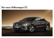 Der neue Volkswagen CC - VW Passat