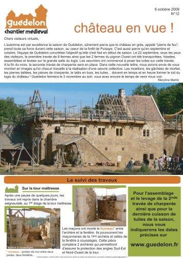 """Château en vue !"" N°12 (PDF - 422 Ko) - Guédelon"