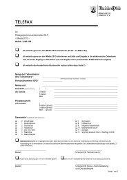 Faxformular iMedia 2013