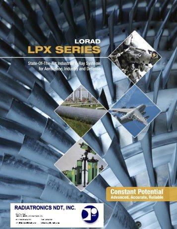 LORAD LPX SERIES - Radiatronics NDT Inc.