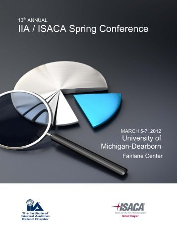IIA / ISACA Spring Conference - The Institute of Internal Auditors