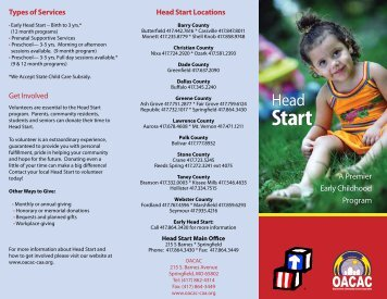 A Premier Early Childhood Program - Ozarks Area Community ...