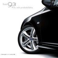 Saab Pris- och produktfakta - SaabsUnited