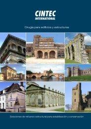 Catálogo Cintec. Cirugía para edificios y estructuras - Anzeve