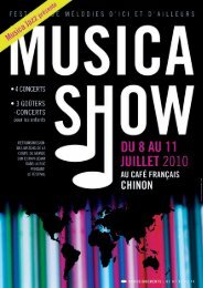 l'association musicajazz - Chinon
