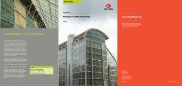 Case Study Wellcome Trust Head Quarters www ... - Tata Steel