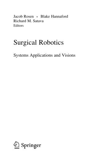 Surgical Robotics - Bionics Lab - University of California, Santa Cruz