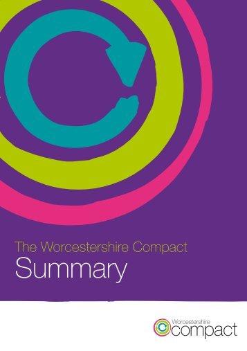 Summary - Worcestershire Partnership