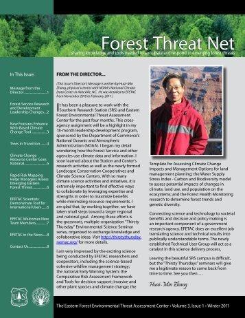 Forest Threat Net - Eastern Forest Environmental Threat ...