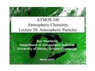 Aerosols - Department of Atmospheric Sciences | UNIVERSITY OF ...
