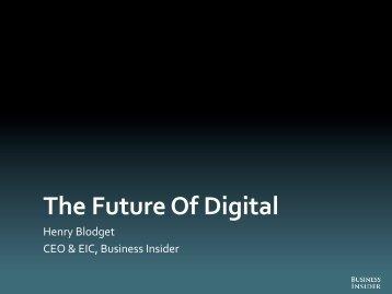 ignition 2012 deck future of digital final