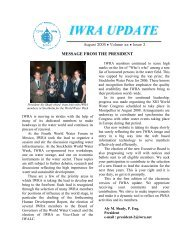 IWRA Update August 2006