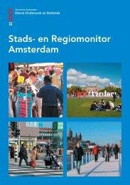 Stads- en Regiomonitor Amsterdam - Onderzoek en Statistiek ...