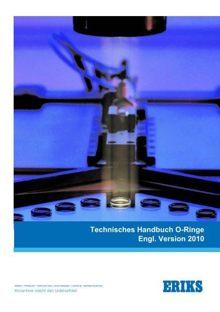 ERIKS nv - O-ring Technical Handbook