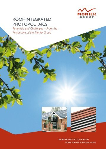 ROOF-INTEGRATED PHOTOVOLTAICS