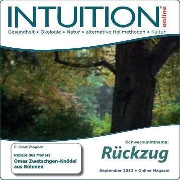 Rückzug - INTUITION online