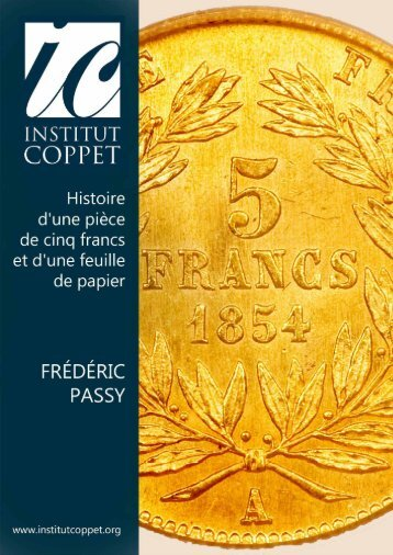 Histoire d'une pièce de cinq francs et d'une feuille - Institut Coppet