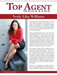 Neoly Lika Williams - Top Agent Magazine