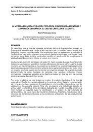 evolución tipológica, condiciones ambientales y adaptación ...