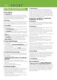 Kantonales Kursprogramm 2010 2 - Pro Senectute Kanton Bern ...