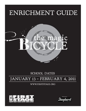 The Magic Bicycle Enrichment Guide - First Stage
