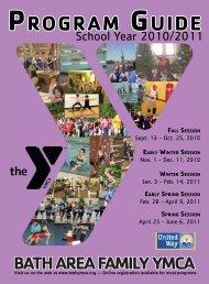 program g uide program guide - the Bath Area Family YMCA
