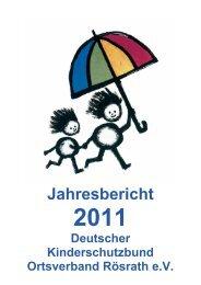 I. Kinder - Deutscher Kinderschutzbund Rösrath eV