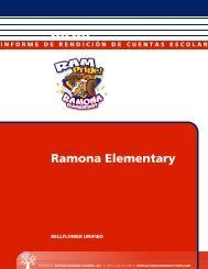 Ramona Elementary - Bellflower Unified School District