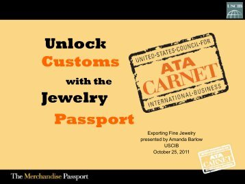 ATA Carnet - U.S. Council for International Business
