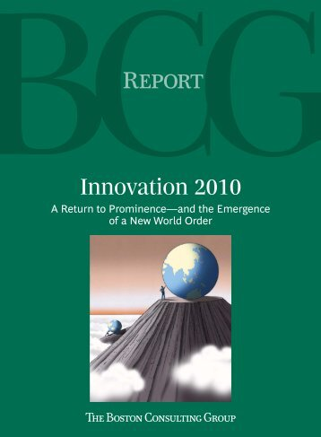 Innovation 2010 - Boston Consulting Group