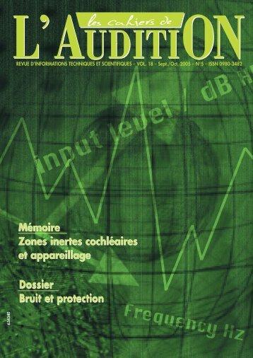 Télécharger le PDF complet N°3 Année 2005 - Collège National d ...