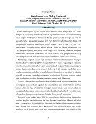 Konferensi dan Dialog Nasional - Elsam