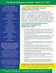 The Winter Biometrics Summit - March 4-7, 2013 - Advanced ... - Page 2
