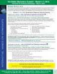 The Winter Biometrics Summit - March 4-7, 2013 - Advanced ... - Page 4