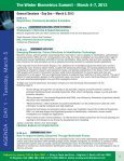 The Winter Biometrics Summit - March 4-7, 2013 - Advanced ... - Page 5