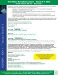 The Winter Biometrics Summit - March 4-7, 2013 - Advanced ... - Page 6