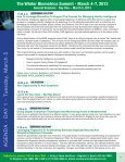 The Winter Biometrics Summit - March 4-7, 2013 - Advanced ... - Page 7